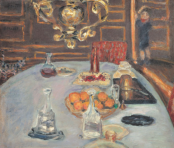 Pierre Bonnard table, painting
